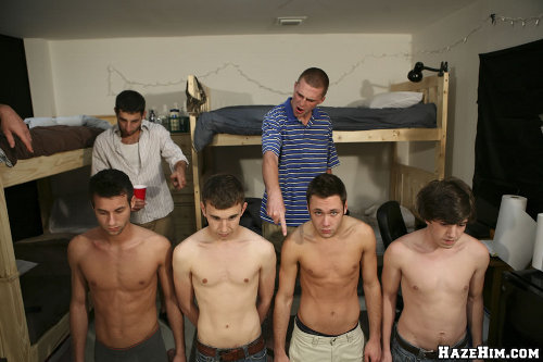 Hazing sex college