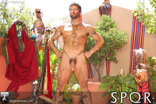 Gay porno roman warriors